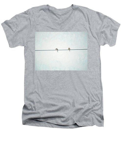 On The Wire Men's V-Neck T-Shirt