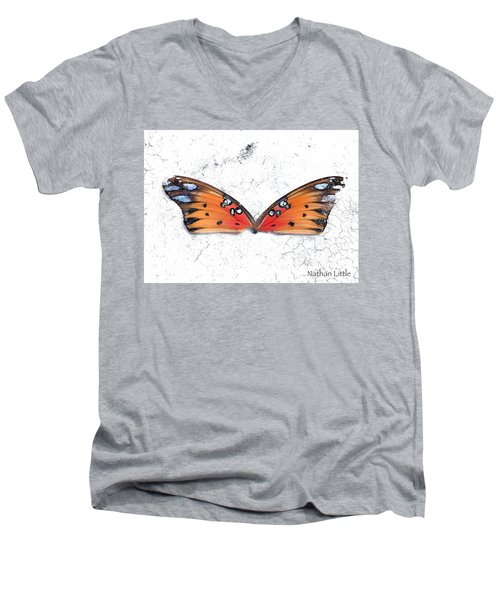 Once Flown Men's V-Neck T-Shirt