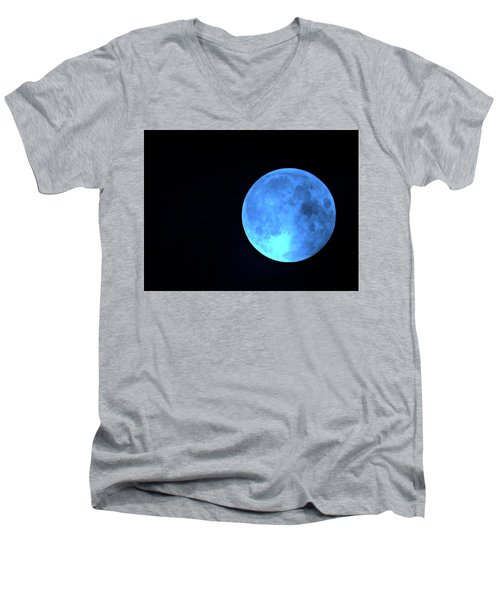 Once In A Blue Moon Men's V-Neck T-Shirt