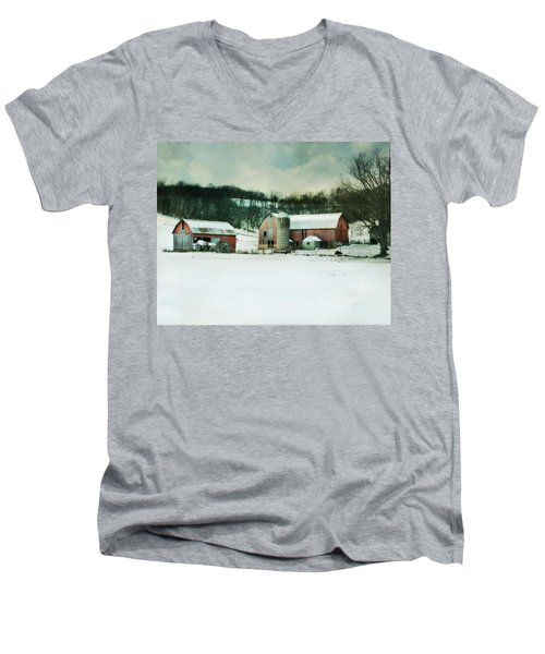Men's V-Neck T-Shirt featuring the photograph Once Was Special by Julie Hamilton