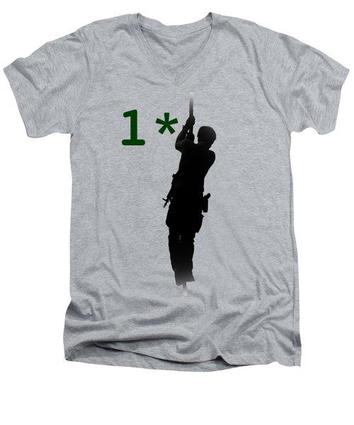 One Asterisk Men's V-Neck T-Shirt