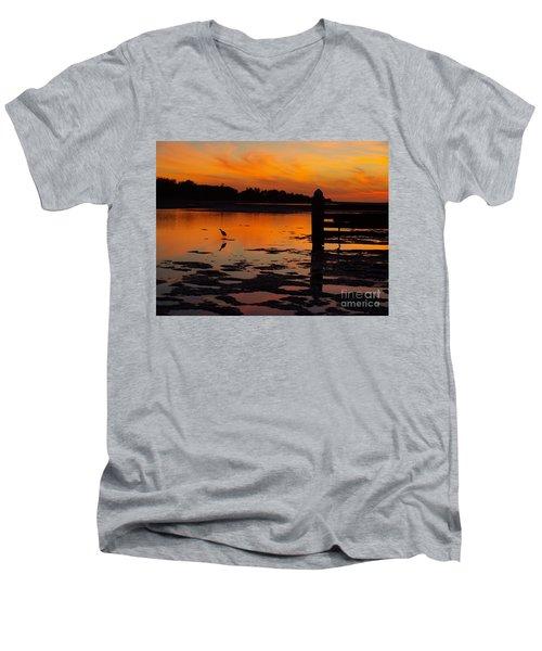 One Bird Men's V-Neck T-Shirt