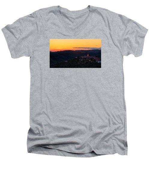 One Evening In September Men's V-Neck T-Shirt by Robert Krajnc
