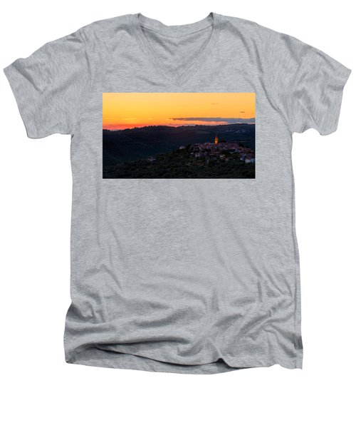 One Evening In September Men's V-Neck T-Shirt