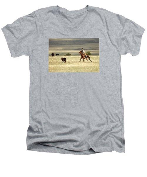 One Got Away Men's V-Neck T-Shirt