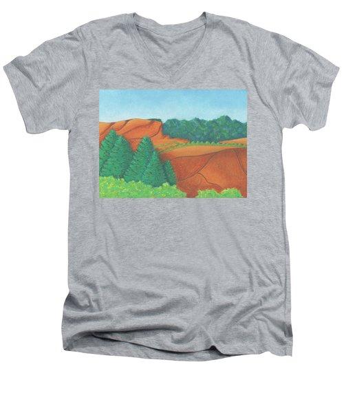 One Mesa Men's V-Neck T-Shirt