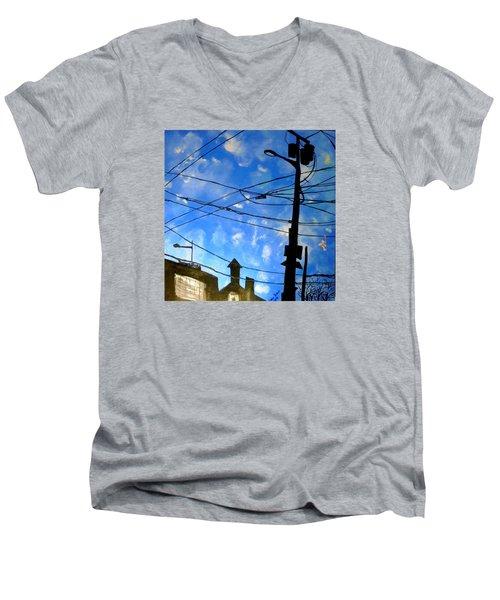 One Philly Sky Men's V-Neck T-Shirt