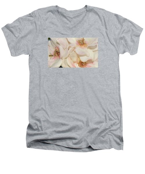 One Small Visitor Men's V-Neck T-Shirt