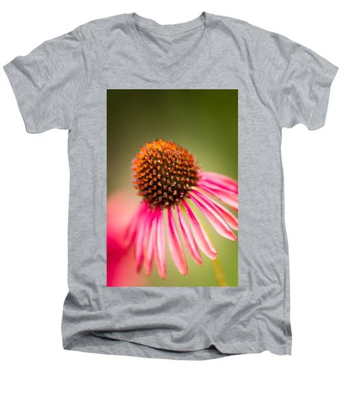 Men's V-Neck T-Shirt featuring the photograph One by Wade Brooks