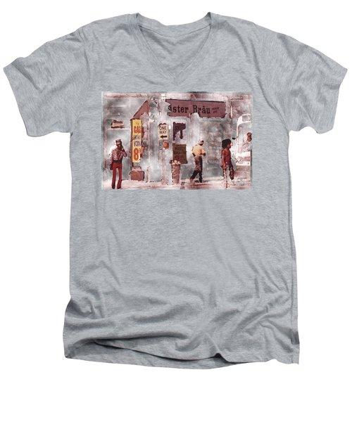 One Way Men's V-Neck T-Shirt