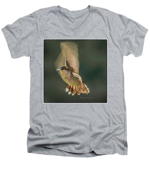 One_wing Men's V-Neck T-Shirt