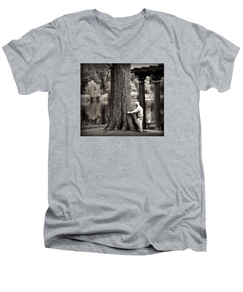 One With Tree Men's V-Neck T-Shirt