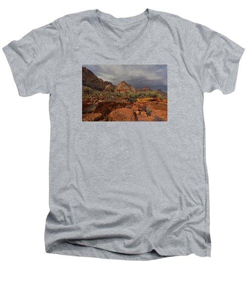 Only Close Men's V-Neck T-Shirt by Mark Ross