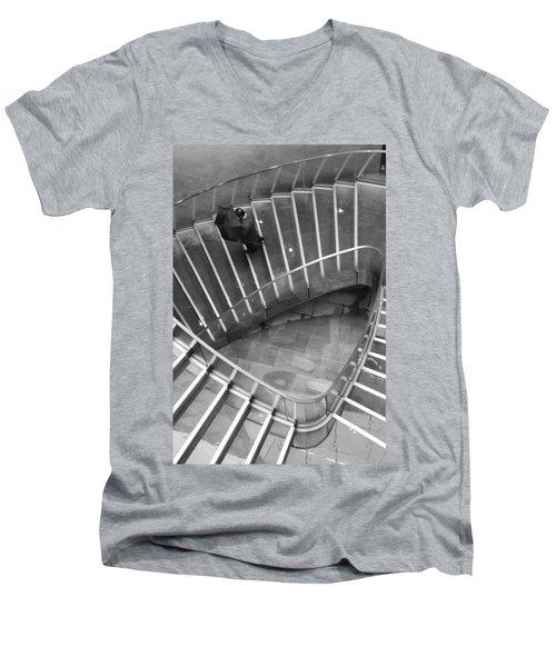 Onto Dry Land Men's V-Neck T-Shirt