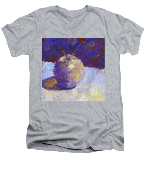 Opal In Lavender Men's V-Neck T-Shirt