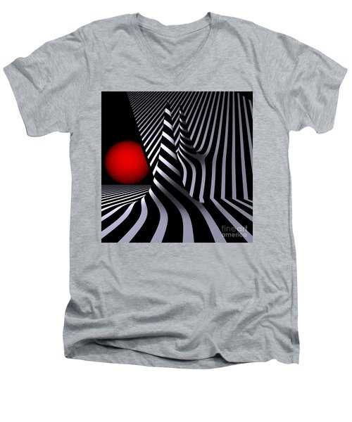 Opart Versiera Men's V-Neck T-Shirt