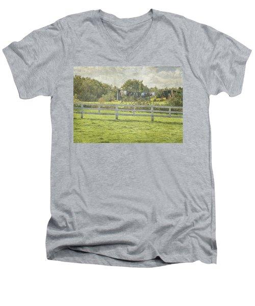 Open Air Clothes Dryer Men's V-Neck T-Shirt