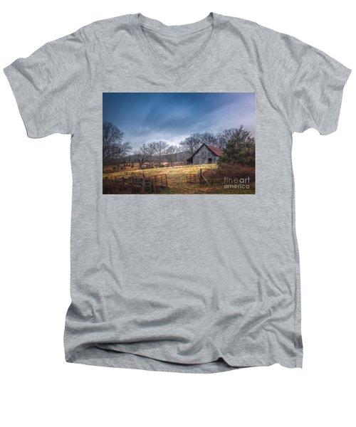 Open Gate Men's V-Neck T-Shirt