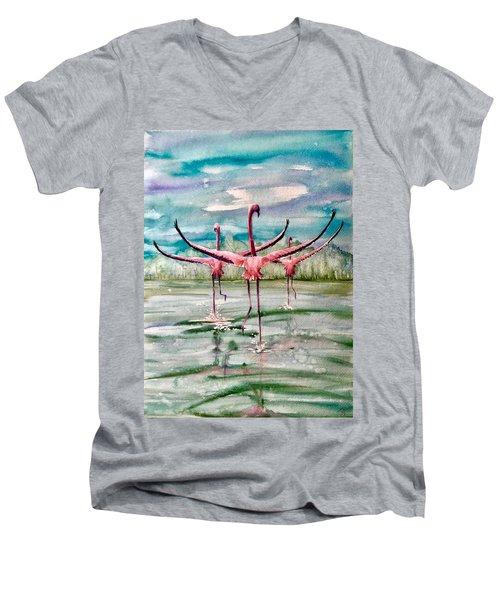 Open Horizon Men's V-Neck T-Shirt
