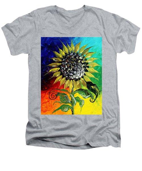 Open Men's V-Neck T-Shirt