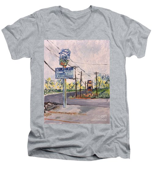 Open March 3 Men's V-Neck T-Shirt