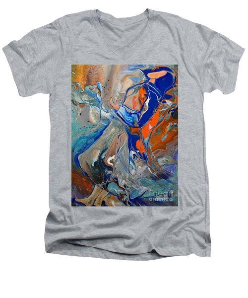 Open The Floodgates Of Heaven Men's V-Neck T-Shirt