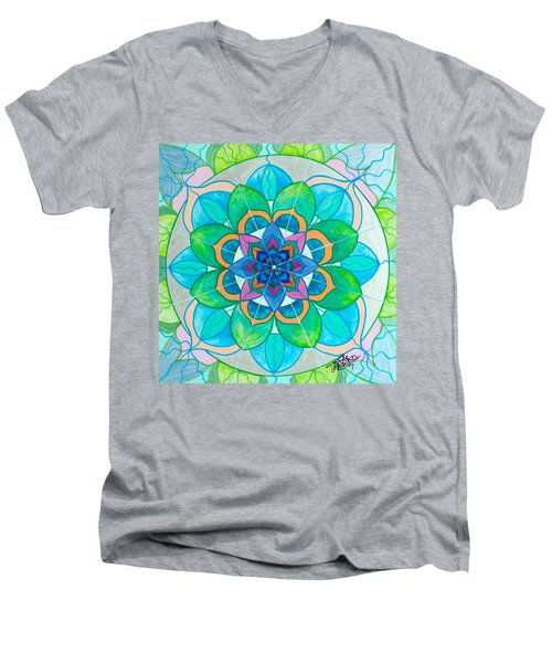 Openness Men's V-Neck T-Shirt