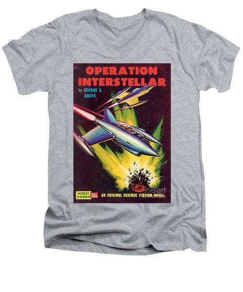 Operation Interstellar Men's V-Neck T-Shirt