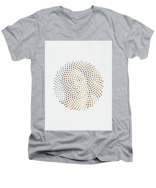 Optical Illusions - Famous Work Of Art 2 Men's V-Neck T-Shirt