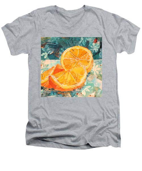 Orange You Glad? Men's V-Neck T-Shirt