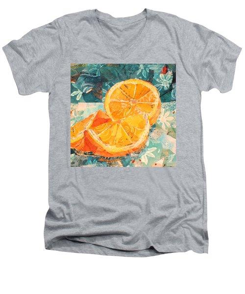 Orange You Glad? Men's V-Neck T-Shirt