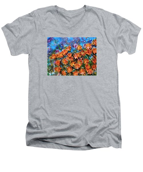 Orange You Sweet Men's V-Neck T-Shirt