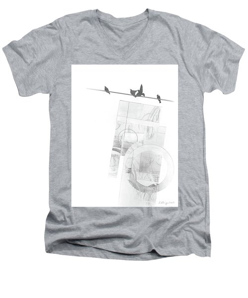 Orbit No. 3 Men's V-Neck T-Shirt