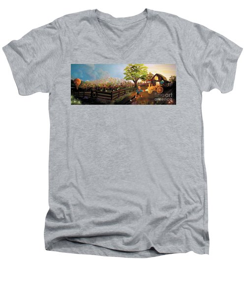 Orchard And Barn Men's V-Neck T-Shirt
