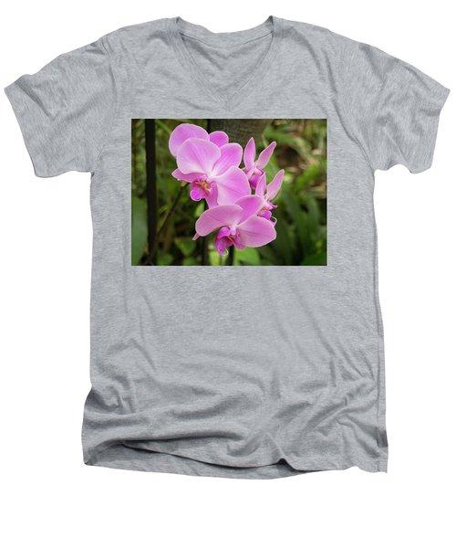 Orchid #6 Men's V-Neck T-Shirt