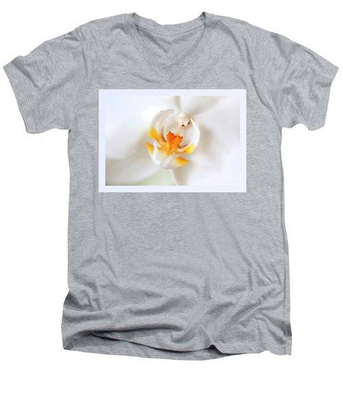 Orchid Detail Men's V-Neck T-Shirt