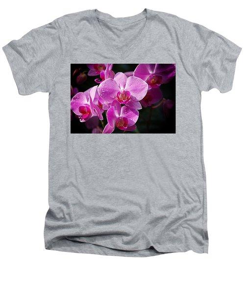 Orchids 4 Men's V-Neck T-Shirt