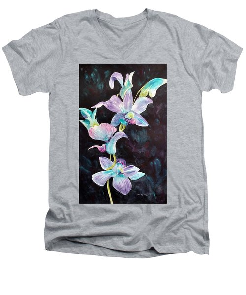 Orchids Alive Men's V-Neck T-Shirt