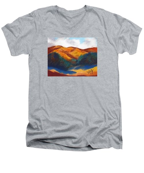 Oregon Hills Men's V-Neck T-Shirt