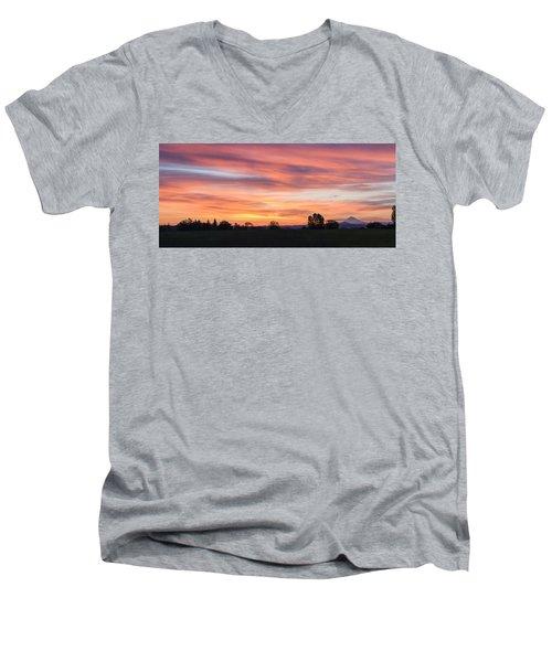 Oregon Sunrise Men's V-Neck T-Shirt