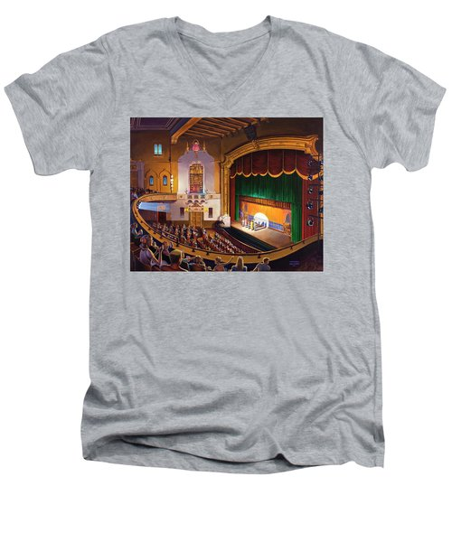 Organ Club - Jefferson Men's V-Neck T-Shirt