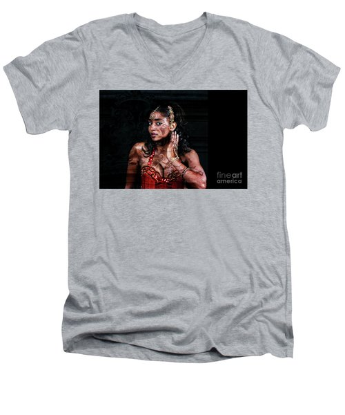 Orient Meets Baroque Men's V-Neck T-Shirt