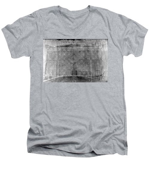 Original French Quarter Map Men's V-Neck T-Shirt