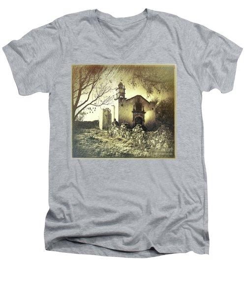 Original Location Men's V-Neck T-Shirt