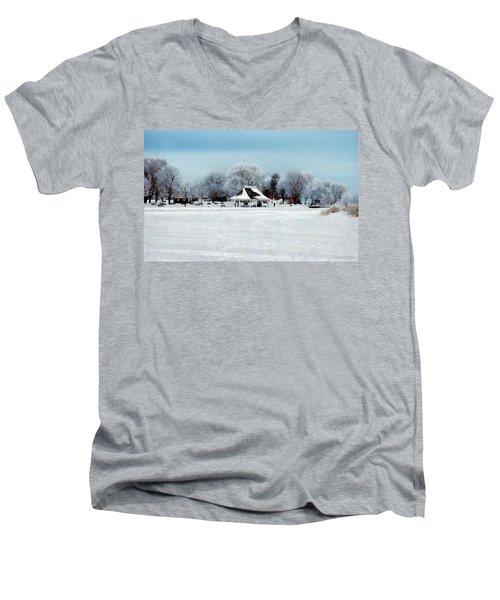 Orillia Winter Men's V-Neck T-Shirt