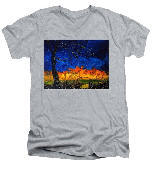 Orion                     14.2.13.2018 Men's V-Neck T-Shirt