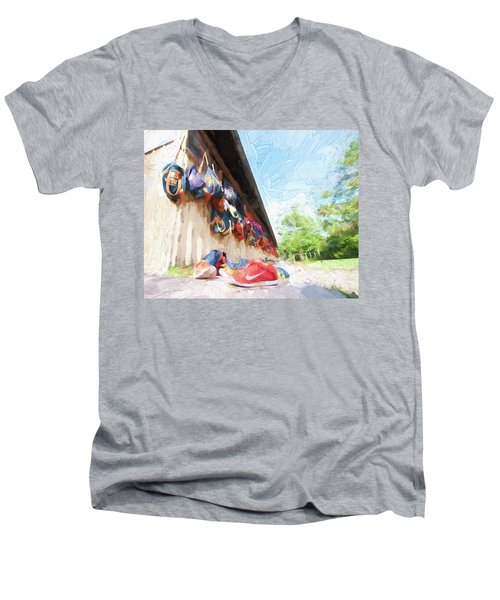 Orlando Area Rowing Society Men's V-Neck T-Shirt
