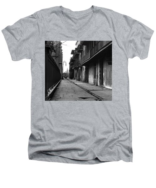 Orleans Alley Men's V-Neck T-Shirt