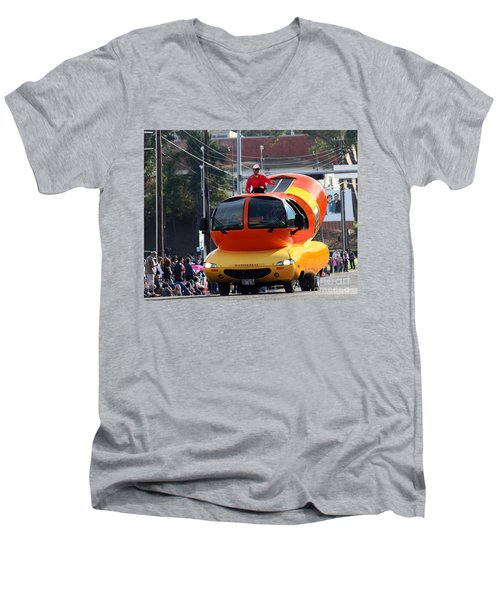 Oscar Mayer Wienermobile Men's V-Neck T-Shirt