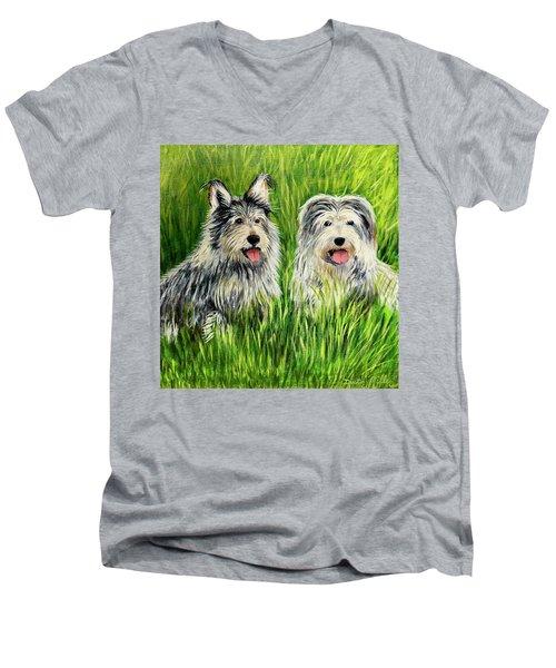 Oskar And Reggie Men's V-Neck T-Shirt